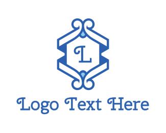 Edinburgh - Classic Blue Emblem logo design