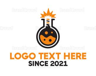 Explode - Fuse Lab  logo design