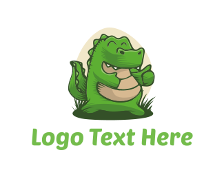Green Dragon - Thumboyo logo design
