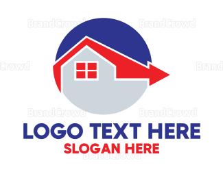 Buy - Direction Home  logo design