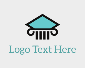 Attorney - Aqua Pillar logo design