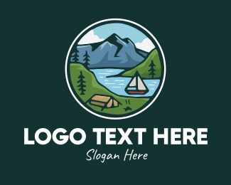 Explorer - Rustic River Explorer logo design