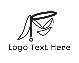Naughty - Naughty Face logo design