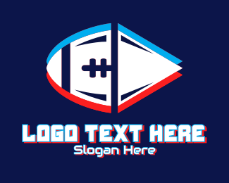 Static - Static Motion Football logo design
