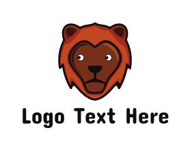 Nice - Friendly Lion logo design