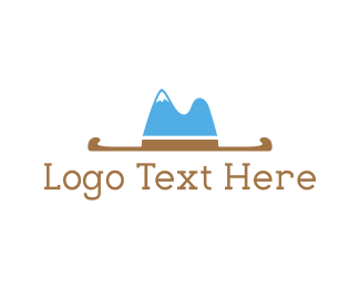 Rodeo - Hat Mountain logo design