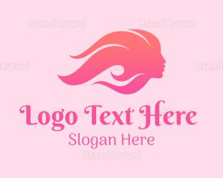 Beauty - Pink Gradient Beauty logo design