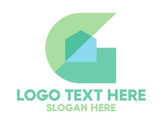 Polygonal - Polygonal Letter G logo design