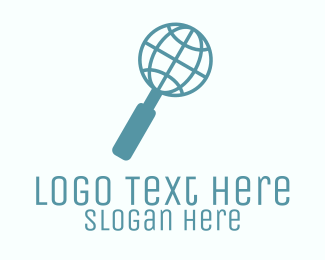 Search Engine - Global Search logo design