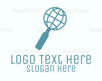 Search - Global Search logo design