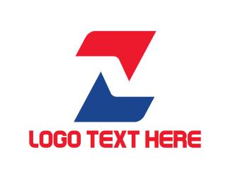 Letter Z - Industrial Letter Z logo design