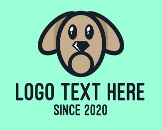 Dog Trainer - Black Diamond Puppy Dog logo design