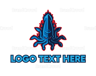 Octopus - Evil Octopus Gaming logo design