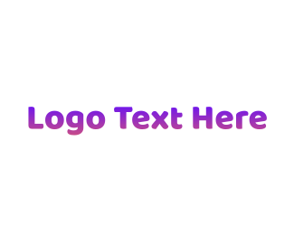 Simple - Simple Gradient Purple logo design