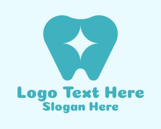 Orthodontics - Sparkly Tooth Dentist logo design