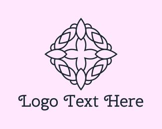 Floral - Floral Crown logo design