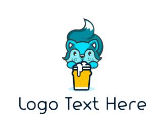 Chipmunk - Squirrel Beer logo design