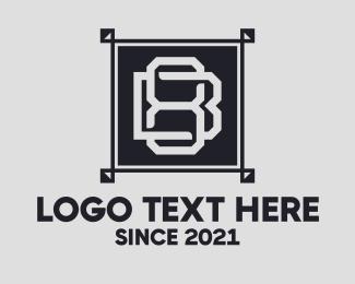 Floor - Monogram B & 8 logo design
