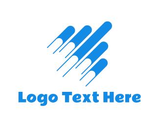School - Flying Books logo design