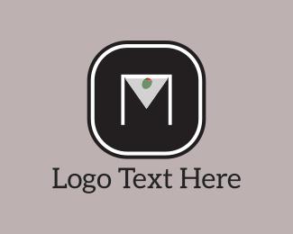 Olive - Martini M logo design