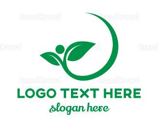 Garden - Eco Garden logo design