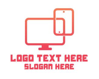 Monitor - Gadget Technician logo design