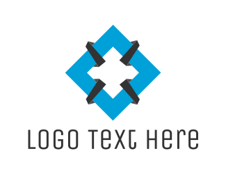 Diamond - Tech Diamond logo design