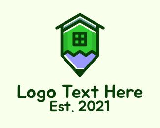 Architecture - Pencil House Architecture logo design