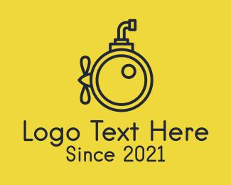 Photography - Black Submarine Camera logo design