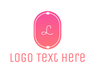 Pink Hexagon - Beauty  Emblem logo design