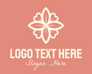 Matchmaking - Floral Heart Decoration logo design