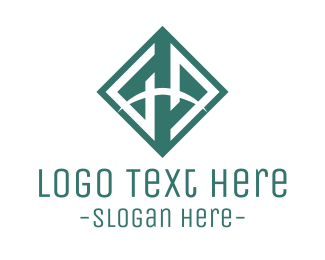 Diamond - G & D logo design