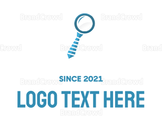 Zoom - Zoom Search logo design