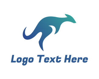 Attraction - Kangaroo logo design