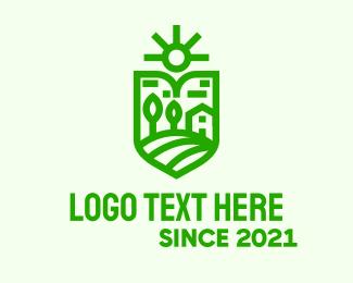 Insurance - Green Travel Insurance logo design