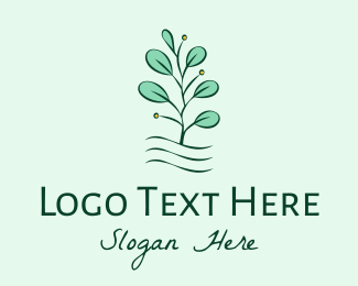 Plant - Plant Seedling logo design