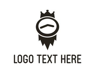 Timer - Time King logo design