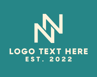 Letter N - Monogram N & N logo design