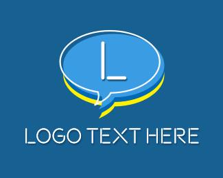 Inbox - Chat Head Letter logo design