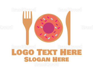 Restaurant - Donut Restaurant logo design