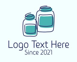 Jar - Jar Storage Container logo design