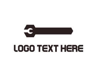 Black Wrench  Logo