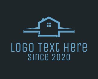 Plumber - Roof & Plumbing logo design