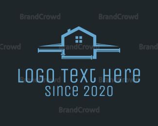 Roof - Roof & Plumbing logo design