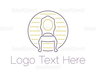 1960s - Antique Chair logo design