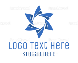 Rotation - Water Star logo design
