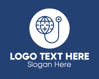 Medical Imaging - Global Medicine Organization logo design