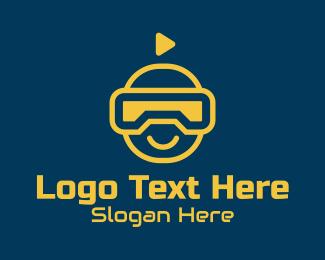 Virtual Reality - Virtual Reality Gaming logo design