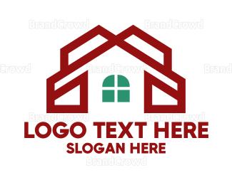Chapel - Red Chapel House logo design