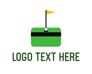 Credit - Money Golf logo design